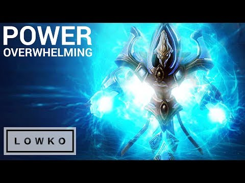 StarCraft 2: POWER OVERWHELMING! (Temple of Pain on Brutal)