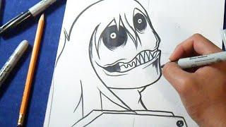 Cómo dibujar a Jeff The Killer | How to draw Jeff The Killer