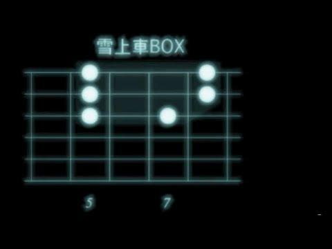 エレキBOX式リード・ギター自由自在4ジョージとベンチャーズのペンタが雪上車と北海道BOX