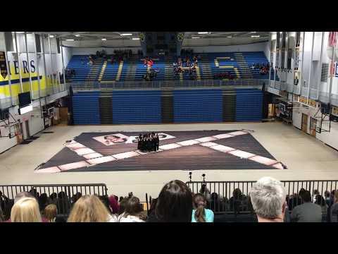 "Edwardsville High School Varsity Winter Guard 2019 ""Elizabeth"""