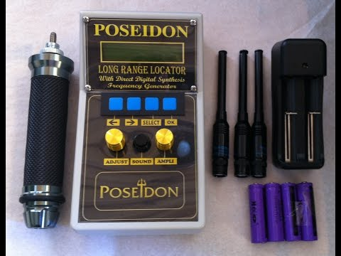 POSEIDON LONG RANGE LOCATOR FOR GOLD - SILVER AND MORE