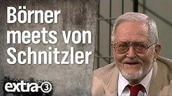 Hans-Jürgen Börner im Gespräch mit Karl Eduard von Schnitzler (1997) | extra 3 | NDR