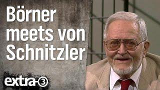 Börner im Gespräch mit Karl Eduard von Schnitzler (1997)