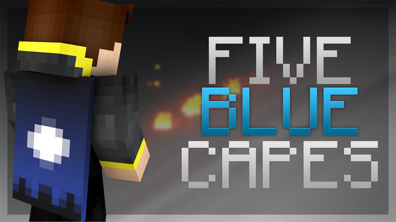 5 Blue Optifine Cape Designs Themed Optifine Capes