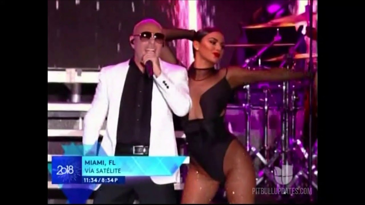 Pitbull New Year's Eve 2018 Performance (FELIZ 2018)