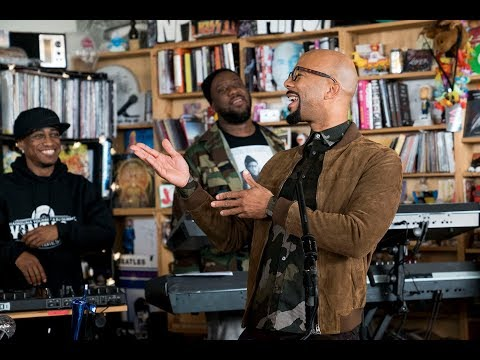 August Greene (Common, Robert Glasper, Karriem Riggins): NPR Music Tiny Desk Concert