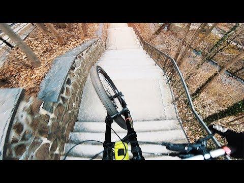 URBAN DOWNHILL MOUNTAIN BIKING CHEMNITZ - Rose Bikes Soulfire 3 - Lukas Knopf