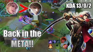 Forcing LANCELOT Back in the META!! Forgotten Assassin | Mobile Legends Bang Bang