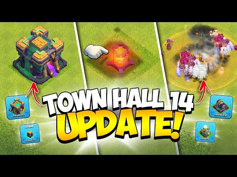 ALL NEW Town Hall 14 is Here! Full April 2021 Update Information (Clash of Clans) - Kenny Jo