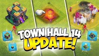 ALL NEW Town Hall 14 is Here! Full April 2021 Update Information (Clash of Clans)