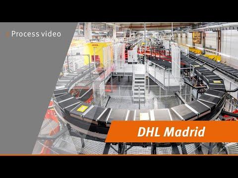 DHL Madrid process video