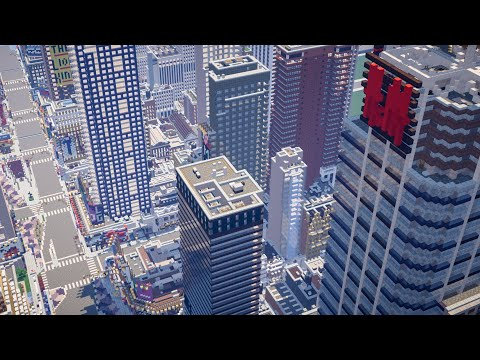 Minecraft Midtown Manhattan, NY City Review
