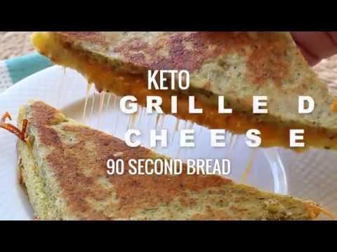 Keto Grilled Cheese Sandwich Recipe