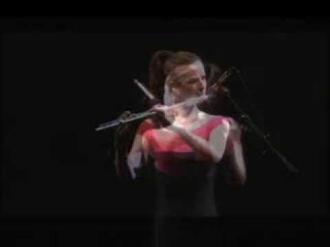 Emi Ferguson performs Lizamander for flute and MAXMSP by Russell Pinkston