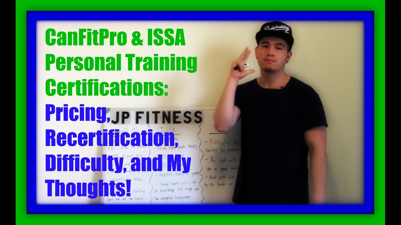 Issa Canfitpro Personal Training Certs Pricing Info And My