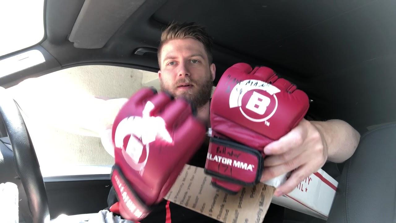 BELLATOR MMA GEAR UNBOXING