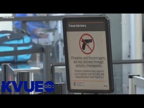 TSA Agents Catching Travelers With Guns At Austin Airport | KVUE