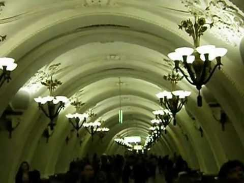 Moscow Metro - Sights & Sounds