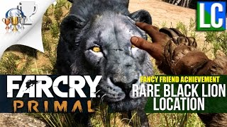 Far Cry Primal: RARE BLACK LION LOCATION - Fancy Friend Achievement/Trophy
