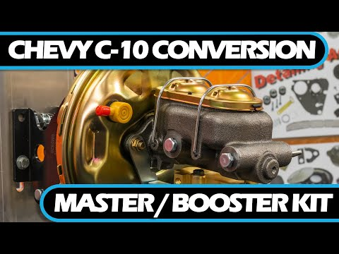 How to   Install 1967-1970 Chevy C-10 Conversion Master/Booster Kit