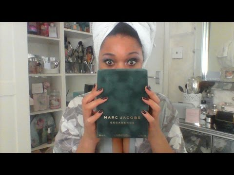 MARC JACOBS DECADENCE ♥ UNBOXING! ***NEW PERFUME ALERT***