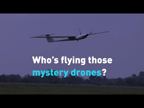 Who is flying these mysterious drones in the U.S.?
