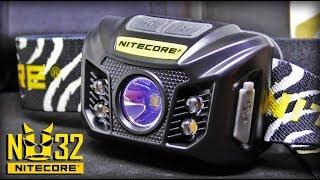 Мощный налобный фонарь Nitecore NU32