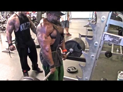 TRAPS (725 LB Shrugs): Kali Muscle + Thai + The Beast