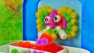 Bunchems Zestaw Podróżny • Zwierzęta 3D • Bajki i kreatywne zabawki