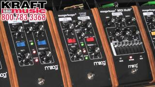Kraft Music - Moog Moogerfooger Demo with Jake Widgeon