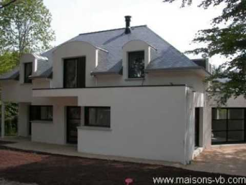 Maisons contemporaines en bretagne youtube for Maisons contemporaine