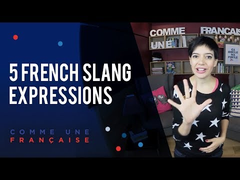 Top 5 Favourite French Expressions (in Slang) by Géraldine - Comme