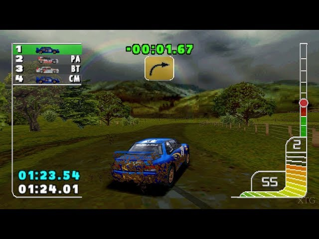 Colin McRae Rally PS1 Gameplay HD (ePSXe)