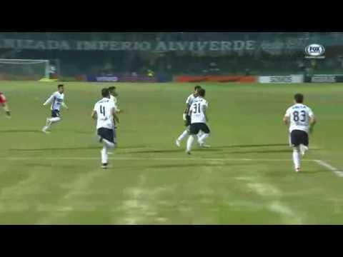 Gols - Coritiba 2 x 2 Palmeiras