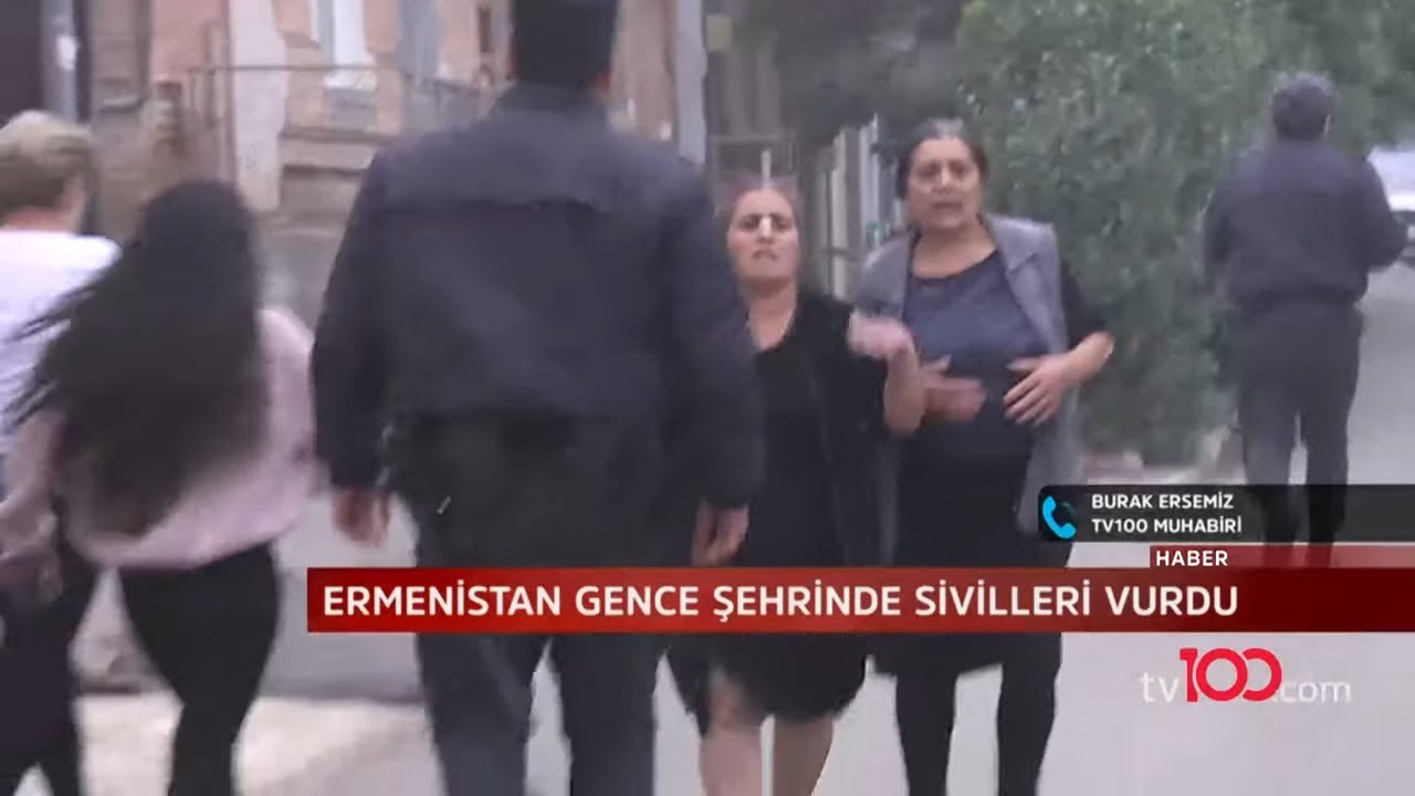 Ermenistan'dan Azerbaycan'ın Gence şehrine ikinci bombalı saldırı
