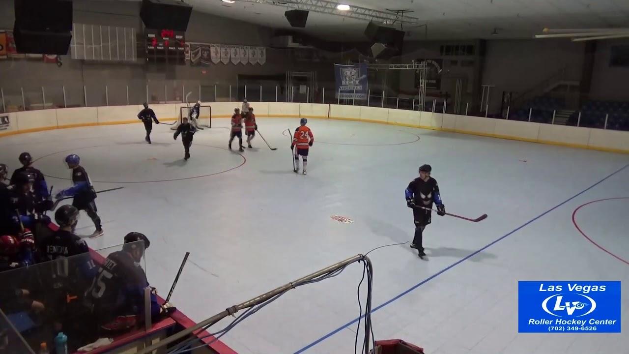 Vegas Ball Hockey Classic Quarterfinal Kelowna Drillers Vs Venom