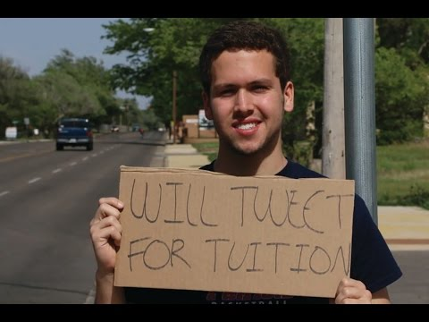 Will Tweet for Tuition