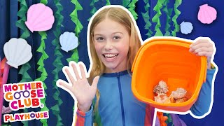 How Many Seashells? | Mother Goose Club Dress Up Theater #NurseryRhymes
