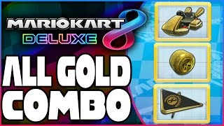 How To Unlock Gold Kart, Gold Tires, & Gold Glider In Mario Kart 8 Deluxe!