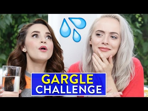 Thumbnail: SINGING GARGLE CHALLENGE ft Madilyn Bailey