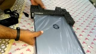HP LAPTOP (15-bg001ax) AMD - 7410 4GB RAM 2GB AMD R5 430 GRAPHICS 1TB HARD DISK UNBOXING