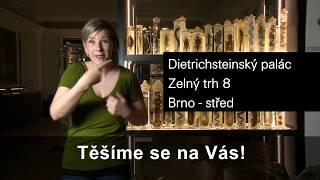 Videopozvánka pro neslyšící na Brněnskou muzejní noc (19. 5. 2018)