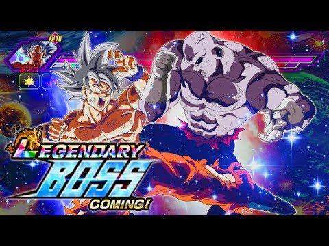 UNIVERSAL SURVIVAL ARC TEAM & DYSPO VS. THE LEGENDARY GOKU EVENT! (DBZ: Dokkan Battle)