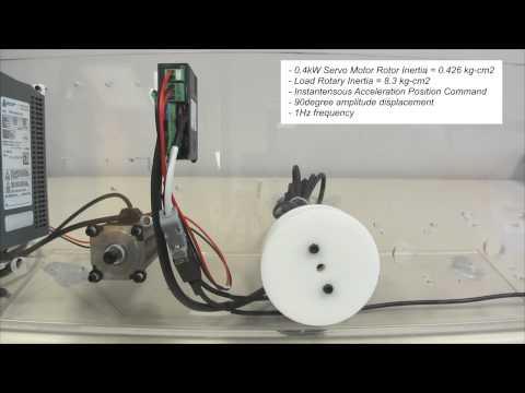 DMM Servo Application Demo - High Inertia Load Response