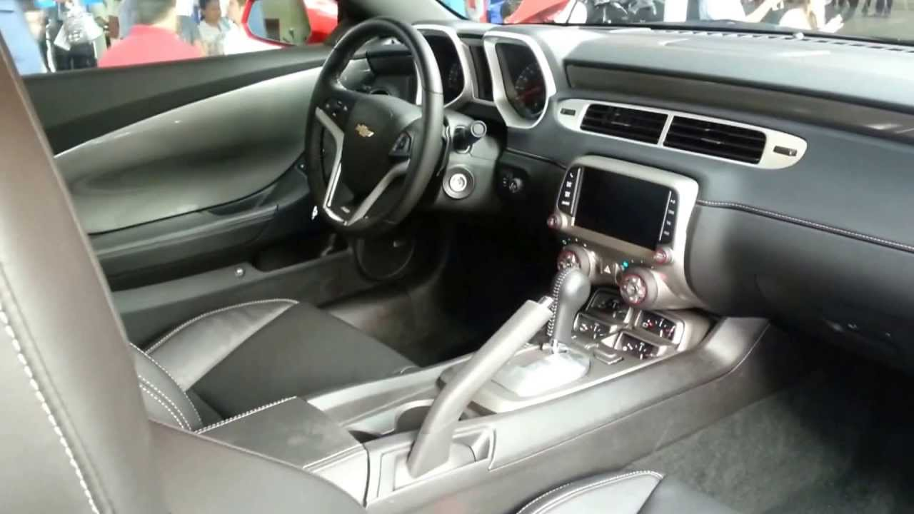 Awesome Interior Chevrolet Camaro SS 2014 Versión Para Colombia FULL HD   YouTube