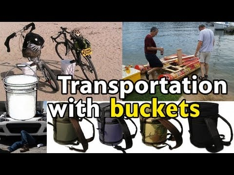 Transportation with 5 Gallon Buckets
