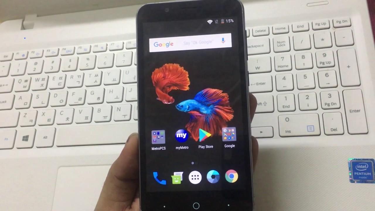 ZTE Avid 4 FRP/Google bypass Android 7 1 1 | ZTE Z855 MetroPCS FRP/Google  unlock