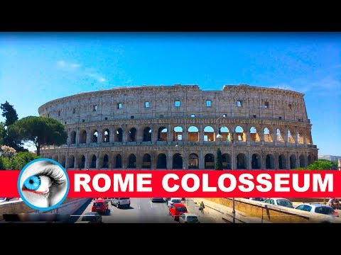 Colosseum Rome Italy 4K Vacation Travel Guide Video