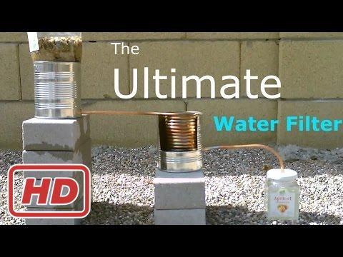 Filtro finale dell'acqua fai da te! -2 fase depuratore di acqua (purifica/riscalda & cuochi!) - sem