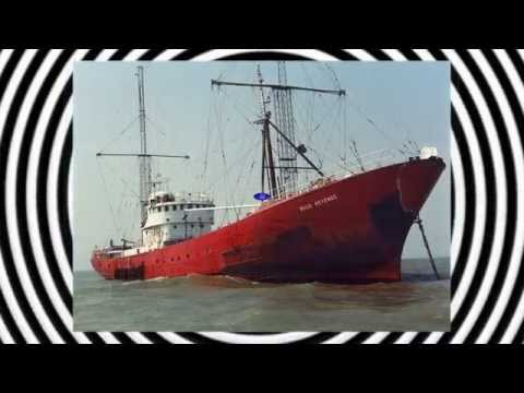 radio caroline test transmitions and start up 1983.